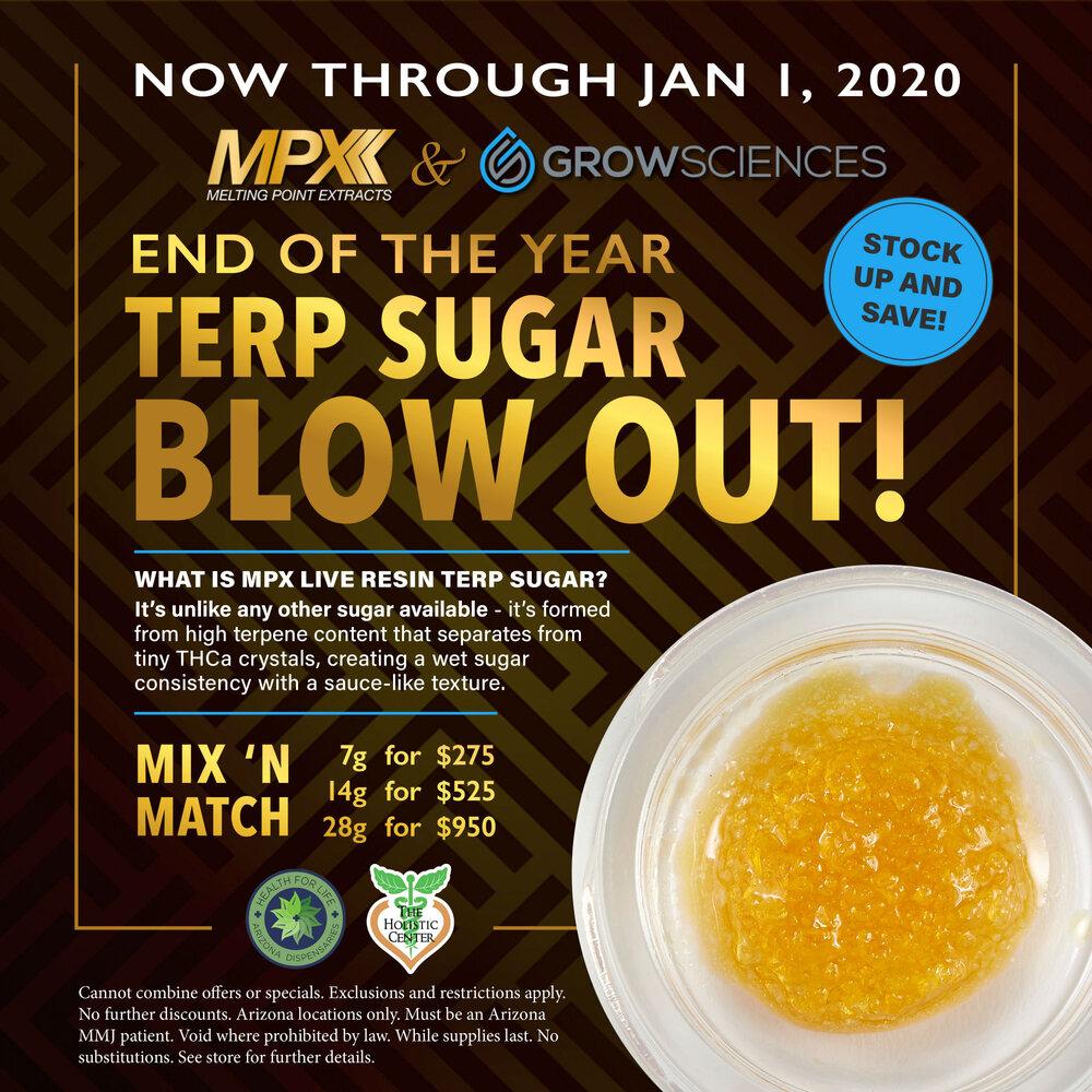 Sales Promo MPX Terp Sugar